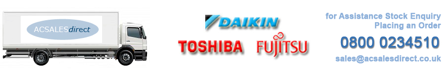 Daikin, Toshiba and Fujitsu Air Conditioning Distributors